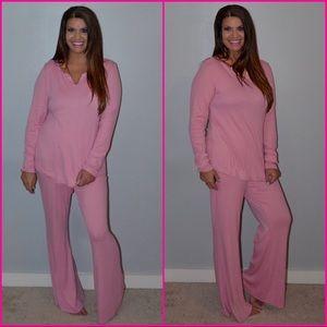 Last Pair -Long Sleeve Loungewear/ Pajamas-Medium